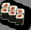 Состав: нори,рис,тунец. Вес-105 гр.